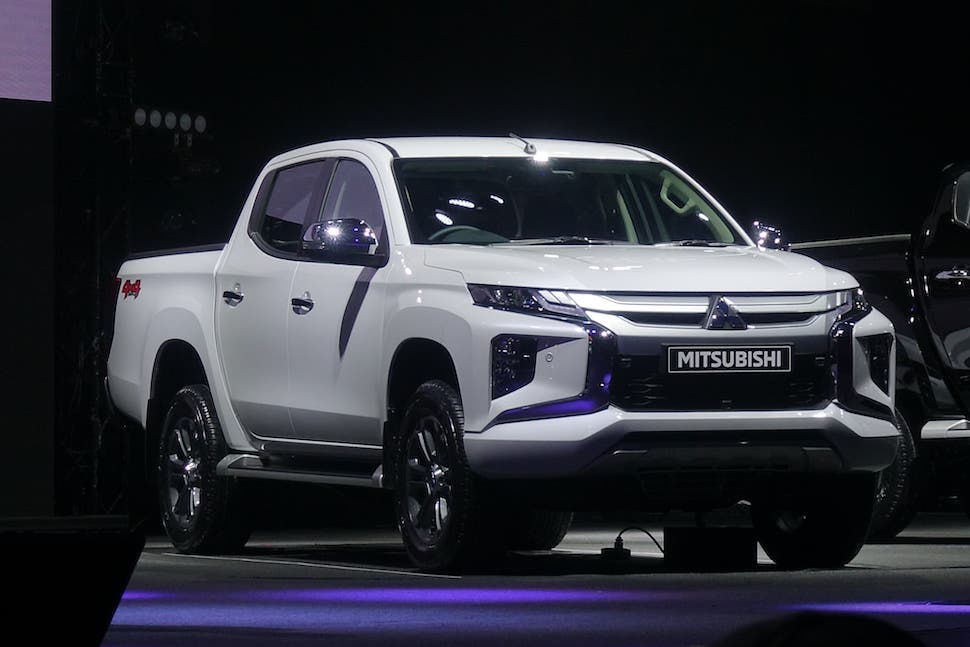 2019 Mitsubishi Triton Facelift Launched