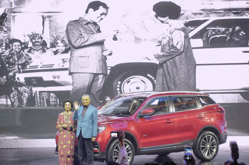 Proton's First SUV- the X70 Launched in Malaysia