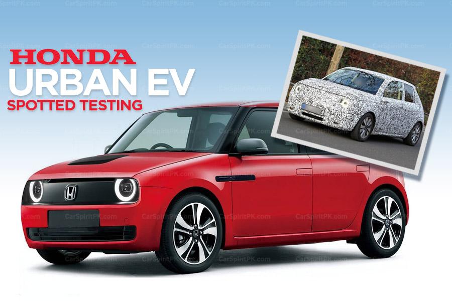 Honda Urban EV Spotted Testing