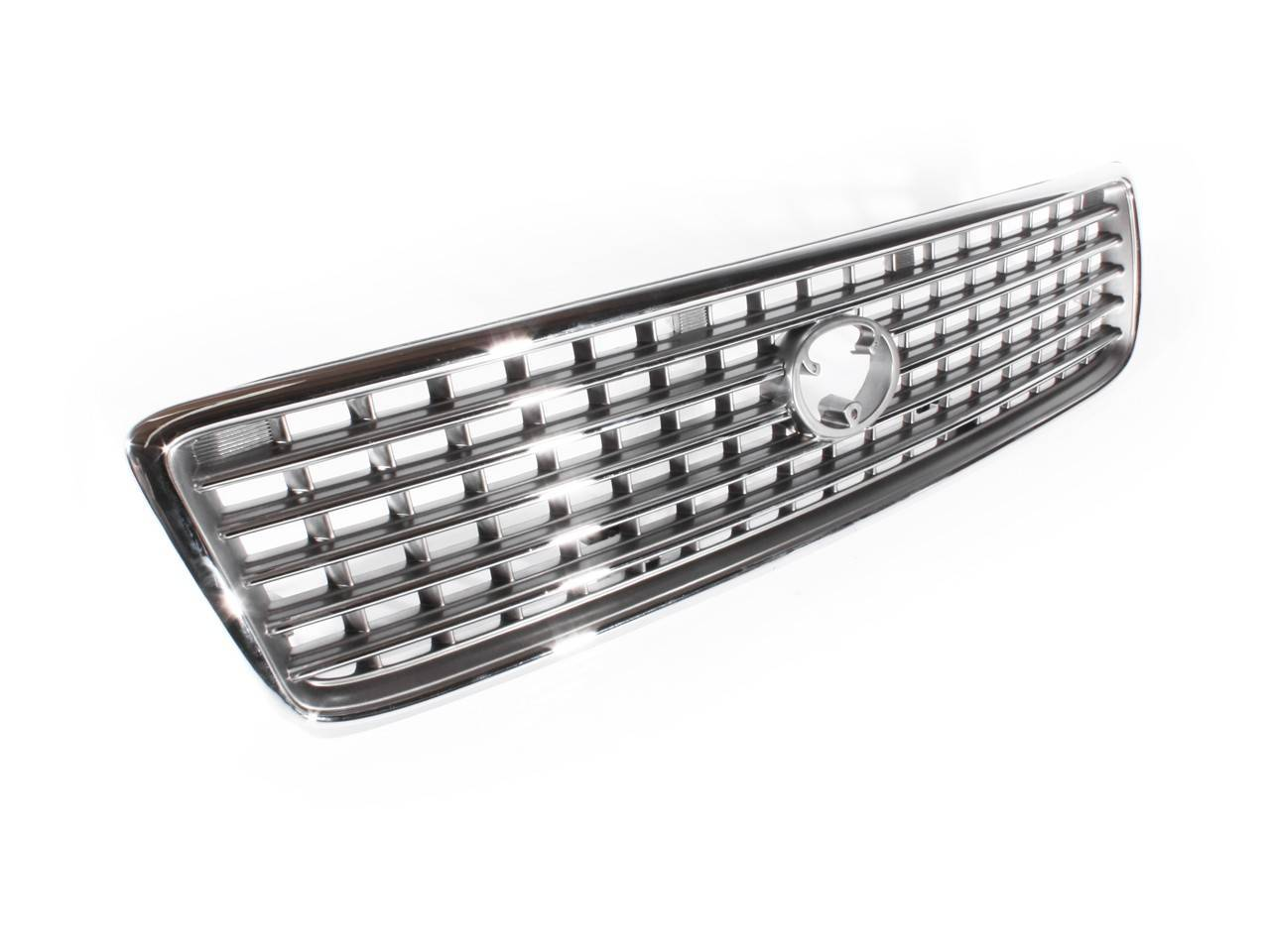 Front Center Grill Toyota Hiace 98 05 Chrome Silver 99 00