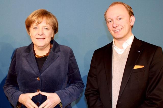 Im Gespräch mit Bundeskanzlerin Angela Merkel image