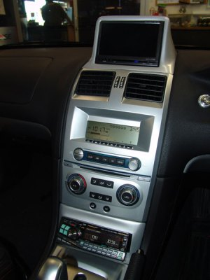 Ford ba falcon stereo options