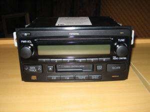 Fujitsu ten toyota car stereo manual