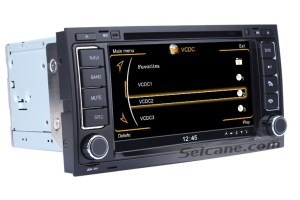 2004 2005 2006 2007 2008 VW Touareg Stereo Removal and Upgrade with BT 3G WIFI GPS DVD  Car