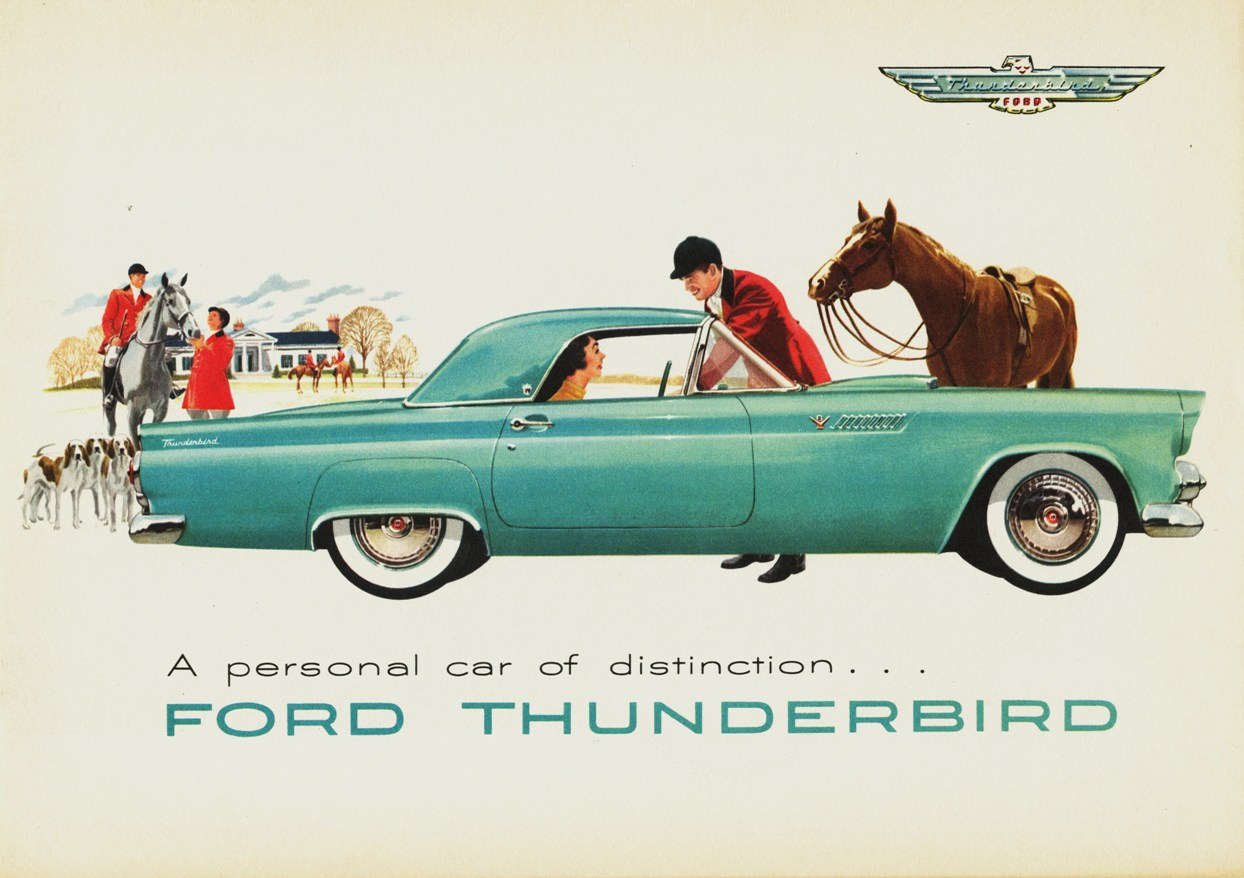 Image result for Thunderbird ad (1955)