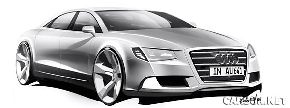 The 2010 Audi A8 will not have the W12 or the S8's V10