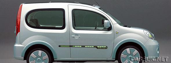 Renault Kangoo Be Bop Ze Electric Car Revealed