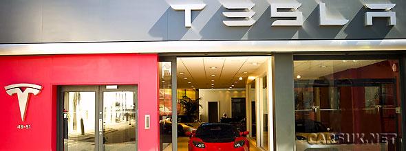Tesla has opened a Flagship Showroom in London's Kensington