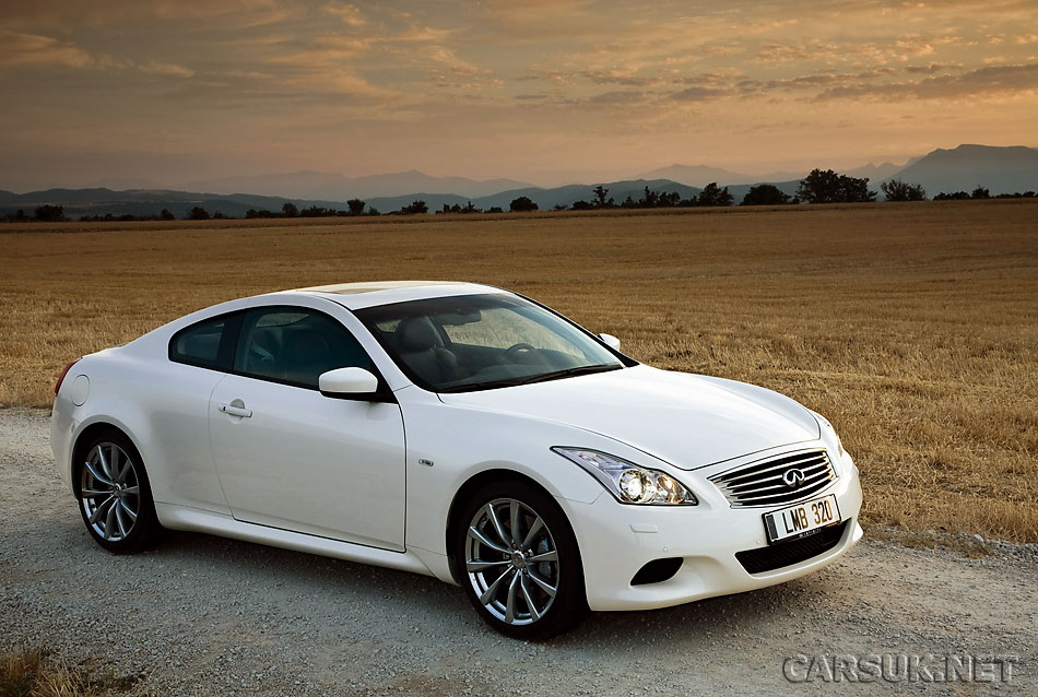 infiniti g37 - uk prices and details