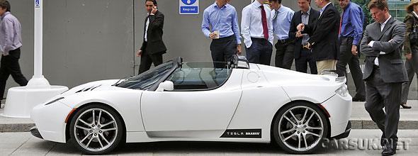 Tesla Roadster Brabus Grab A Drive