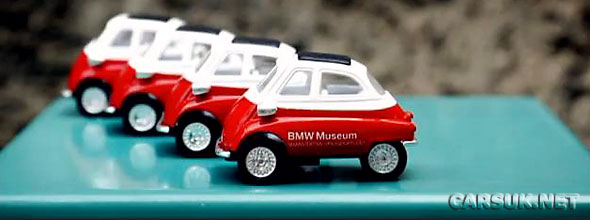 Does the Isetta video from the BMW Museum give a clue to BMW's 'Sub Brand' for its Project i City Cars?