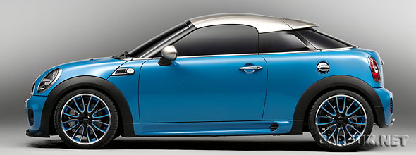 The MINI Coupe will go in to production and be built in the UK