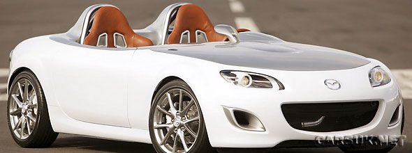 The Mazda MX-5 Superlight. The next generation MX-5 in 2011 could be as light.