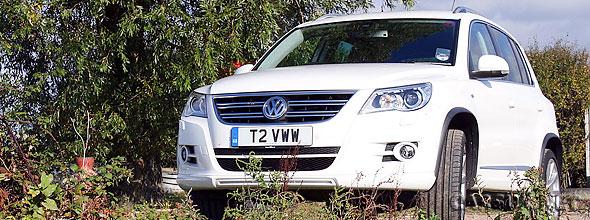 The Volkswagen Tiguan R-Line