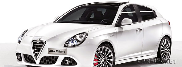 The new Alfa Romeo Giulietta. Probably.
