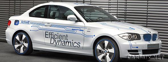 Electric BMW 1 Series Concept ActiveE Revealed