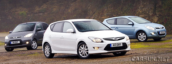 The three new Hyundai Special Editions for 2010