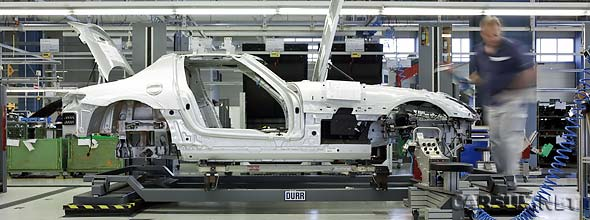 The Mercedes SLS AMG Production