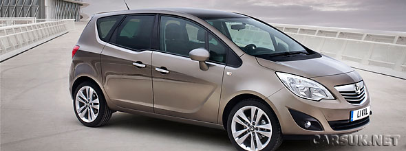 Vauxhall/Opel have revealed the 2010 Meriva