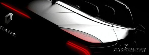 The Renault Megane CC 2010 Tease