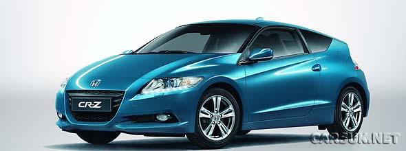 The Honda CR-Z at Geneva Motor Show