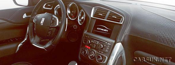 Citroen DS4 interior photos