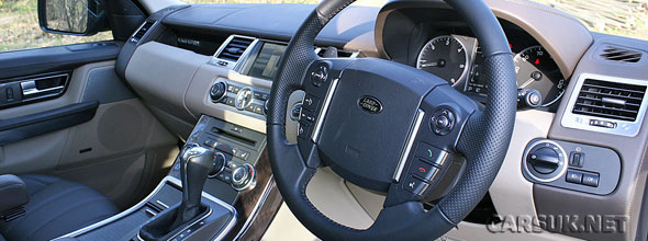 The 2010 Range Rover Sport Review part 2