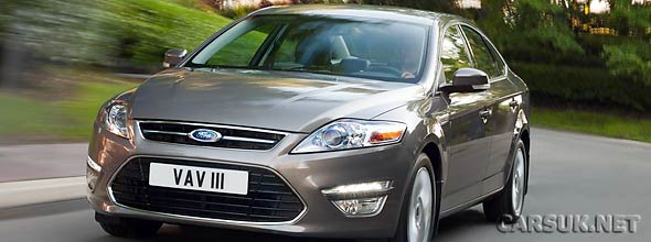 The Ford Mondeo 2011