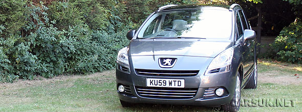 The Peugeot 5008 Review