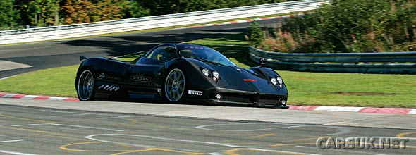 The Zonda R Nurburgring