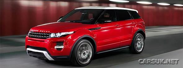 Range Rover Evoque 5 Door Official