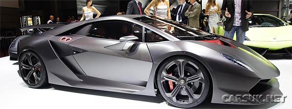 The Lamborghini Sesto Elemento
