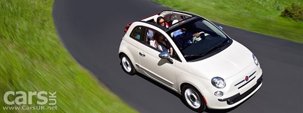 The Fiat 500 Cabrio US launches in the US in time for Spring