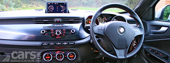 Alfa Romeo Giulia Veloce Interior