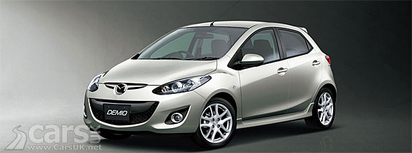 The Mazda Demio launch in Japan points at the facelift Mazda2 for 2012