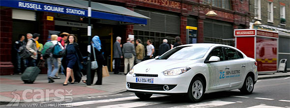 Renault Fluence Ze Fluence Is The Uks Cheapest Electric Car