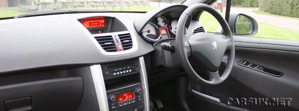 Peugeot 207 SW Sport Interior