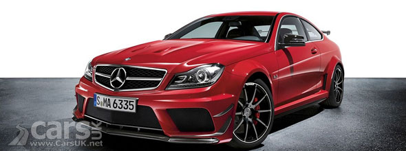 Mercedes C63 AMG Black Series Coupe Track & Aerodynamic Pack