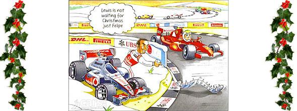 Bernie Ecclestone Christmas Card 2011