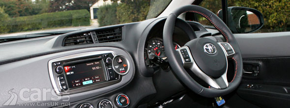 New Toyota Yaris Interior