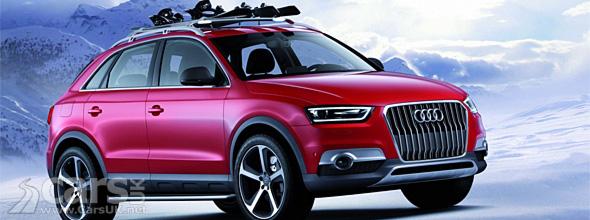 Audi Q3 Vail Concept Previews Audi Q3 Rs Video
