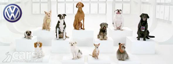 VW Dogs Star Wars Super Bowl Advert