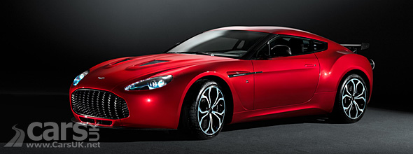 Red  Aston Martin V12 Zagato