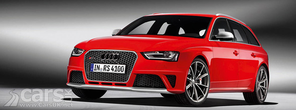 Red Audi RS4 Avant 2012 Official