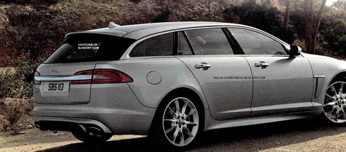 Leaked photo Jaguar XF Sportbrake