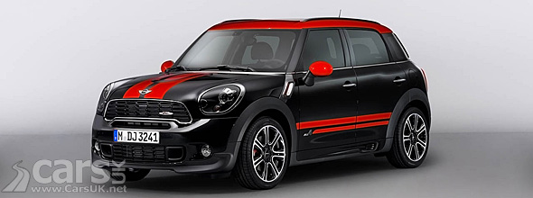 Red MINI Countryman John Cooper Works