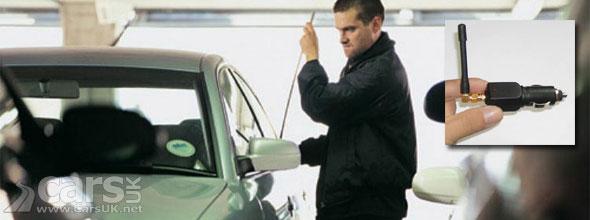 GPS Jammer Car Theft