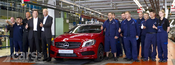 Mercedes A-Class Production Rastatt
