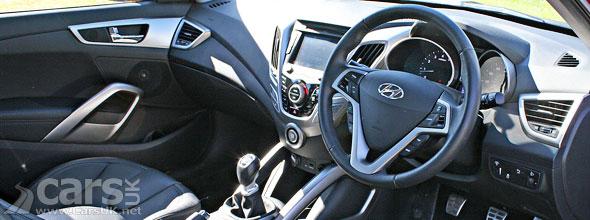 Photo of Hyundai Veloster interior
