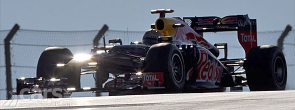 Photo of Vettel's Red Bull U.S. F1 GP Qualifying